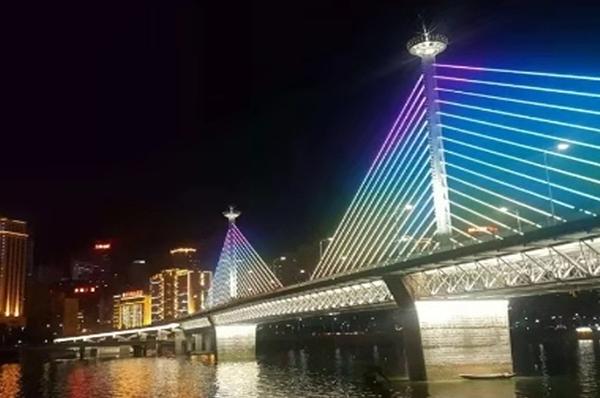 万州桥梁照明