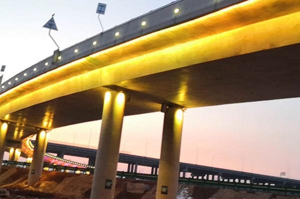 广安高架桥亮化