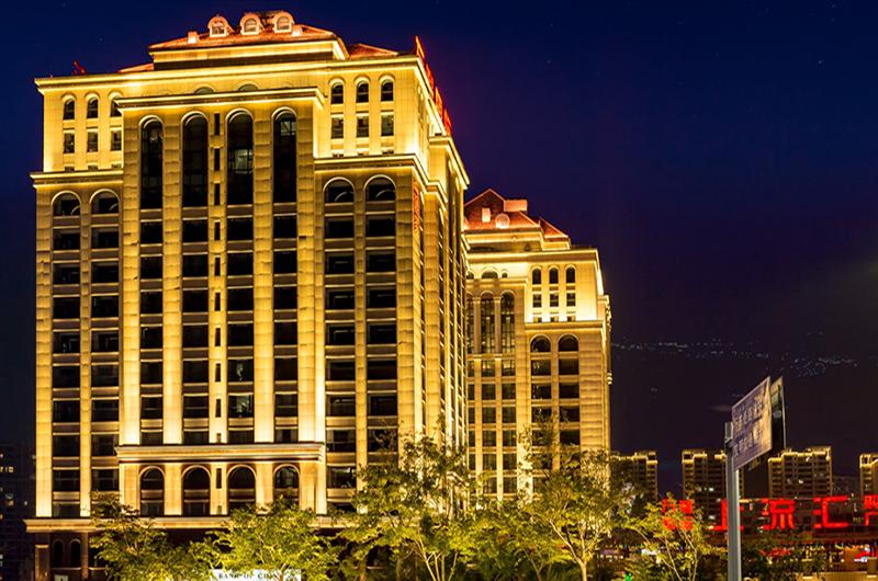 美豪酒店泛光照明